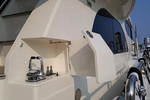 58' Hampton 580 Pilothouse 2008 Starboard Side Aft Controls and Thrusters