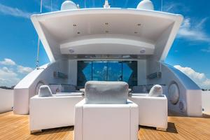 is a Tecnomar 120 Yacht For Sale in Miami--44