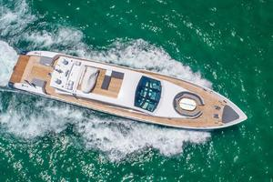 is a Tecnomar 120 Yacht For Sale in Miami--6