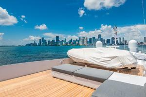 is a Tecnomar 120 Yacht For Sale in Miami--39