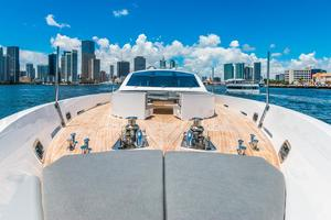 is a Tecnomar 120 Yacht For Sale in Miami--35