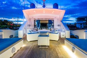 is a Tecnomar 120 Yacht For Sale in Miami--27