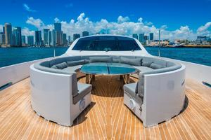 is a Tecnomar 120 Yacht For Sale in Miami--36
