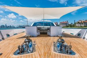 is a Tecnomar 120 Yacht For Sale in Miami--50
