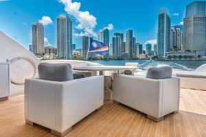 is a Tecnomar 120 Yacht For Sale in Miami--33
