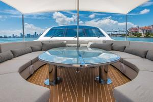 is a Tecnomar 120 Yacht For Sale in Miami--56