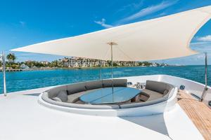 is a Tecnomar 120 Yacht For Sale in Miami--53