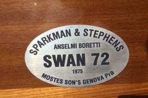 72' Mostes & Sons - Genova Italy Swan 72 1975
