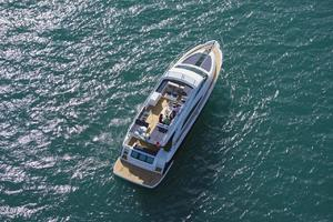 65' Fairline Squadron 65 2013 Manufacturer Provided Image: Fairline Squadron 65 Aerial Shot
