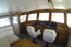 52' Krogen 52 2012 Pilothouse Helm & Double Helm Chairs