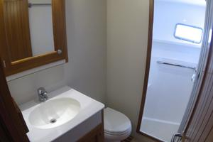 52' Krogen 52 2012 Guest Head w/ Stall Shower