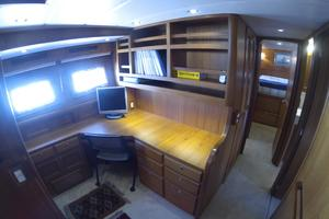 52' Krogen 52 2012 Open Office To Port