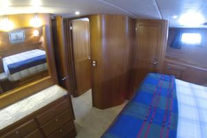 52' Krogen 52 2012 Master Stateroom Looking At The Ensuite Head Door