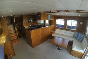 52' Krogen 52 2012 Saloon Looking To Starboard