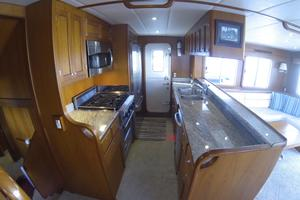 52' Krogen 52 2012 Huge Galley w/ Dutch Door To Covered Side Deck