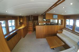 52' Krogen 52 2012 Saloon Looking Forward
