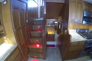 52' Krogen 52 2012 Stairs To Pilothouse Or Staterooms