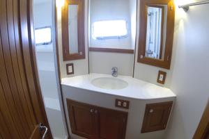 52' Krogen 52 2012 Master Head & Stall Shower