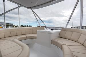 61' Sunny Briggs  2015 Forward Flybridge Seating