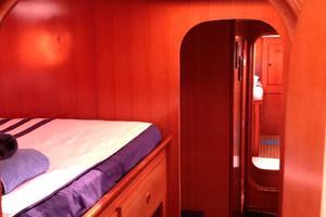 47' Nautitech 47 2004 Port hallway looking aft