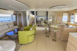 80' Pachoud Yachts 80ft Power Catamaran 2015 2015 Main Salon