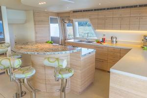 80' Pachoud Yachts 80ft Power Catamaran 2015 2015 Galley