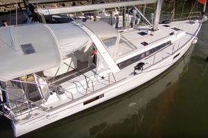 47' Beneteau America Oceanis 48 2014 Outside Starboard Aft looking forward