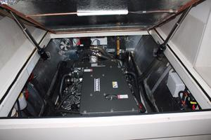 51' Leopard 51 PC 2014 Port Engine View (1)
