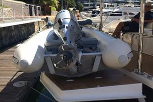 51' Leopard 51 PC 2014 Hydraulic Transom & Tender (2)