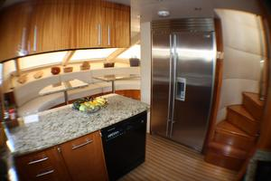 80' Hatteras 80 Motor Yacht 2005 Galley
