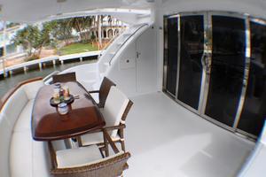 80' Hatteras 80 Motor Yacht 2005 Aft Deck
