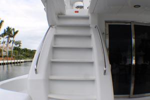 80' Hatteras 80 Motor Yacht 2005 Starirways Aft Deck To FB