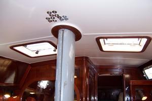 50' Gulfstar Center Cockpit Sloop 1977 50 Gulfstar CC Salon Hatches