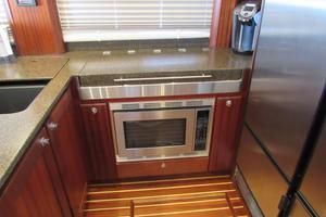 48' American Tug 485 2015 Hidden CookTop and Microwave/Convection Oven