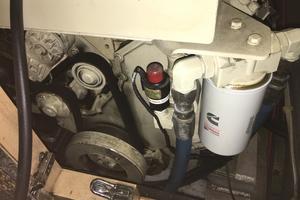 52' Bluewater Yachts Millennium 2001 Engine