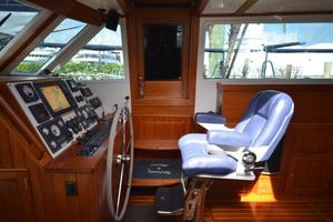 60' Shannon 53 HPS 60 Motorsailor 2010 Inside Helm