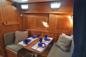 60' Shannon 53 HPS 60 Motorsailor 2010 Dining