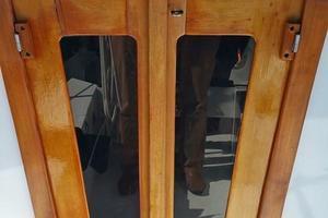 40' Bristol 40 sloop 1972 Entrance to Cabin Areas