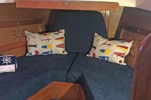 40' Bristol 40 sloop 1972 Forward V-Berth w/filler cushion