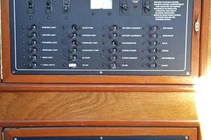 40' Bristol 40 sloop 1972 AC & DC Electrical Panels