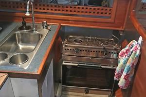 40' Bristol 40 sloop 1972 Origo Alcohol Stove/Oven