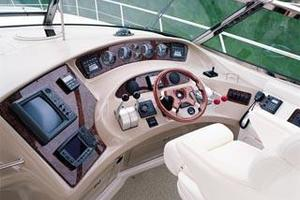 50' Sea Ray 510 Sundancer 2001 Manufacturer Provided Image: 510 - helm