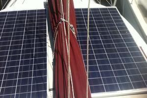 41' Morgan 41 1991 Solar Panels Mounted on the Hard top