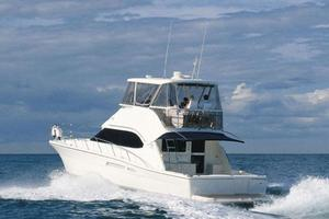 47' Riviera 47 Open Flybridge Series II 2008 Manufacturer Provided Image: Port Quarter View