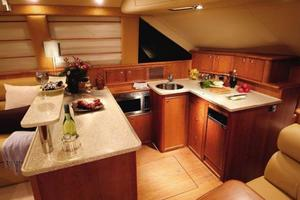 47' Riviera 47 Open Flybridge Series II 2008 Manufacturer Provided Image: Galley