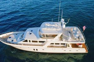 76' Offshore Yachts 76' Motoryacht 2007 Drone 3