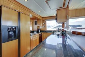 76' Offshore Yachts 76' Motoryacht 2007 Galley