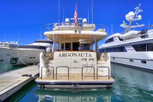 76' Offshore Yachts 76' Motoryacht 2007 At the dock