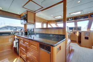 76' Offshore Yachts 76' Motoryacht 2007 Galley 2