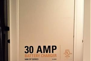 55' Navigator 55 Pilothouse 2012 C Charles 30 Amp Battery Charger